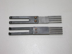飛達分紙鋼片 - 2A  (四叉型 / 薄紙用)